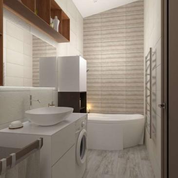 Дизайн-проект Дома с мансардой