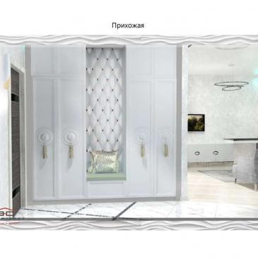 Дизайн проект квартиры в ЖК 32 Жемчужина, Одесса