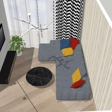 Дизайн-проект квартиры 32-я Жемчужина, Одесса