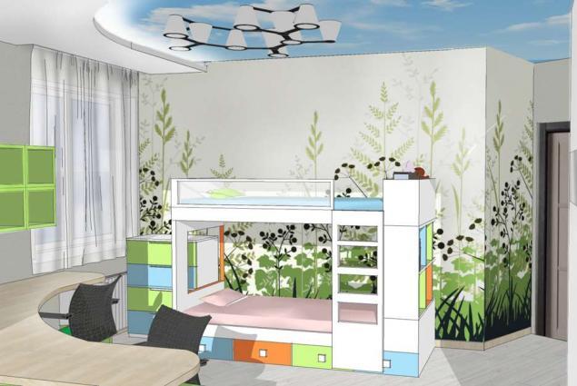 Дизайн-проект квартиры в ЖК Радужный, Одесса
