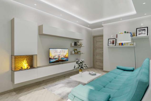 Дизайн-проект квартиры Добровольского, Одесса