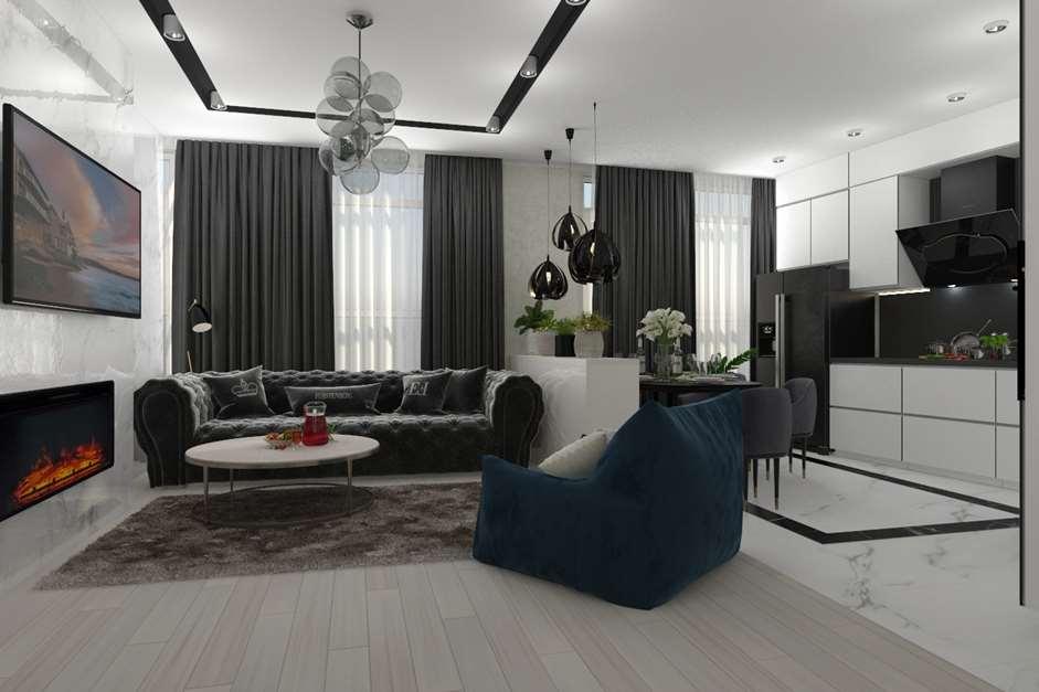 Материалы и мебель в дизайне интерьера