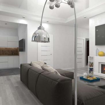 Дизайн интерьера квартиры ЖК Одиссей, Одесса