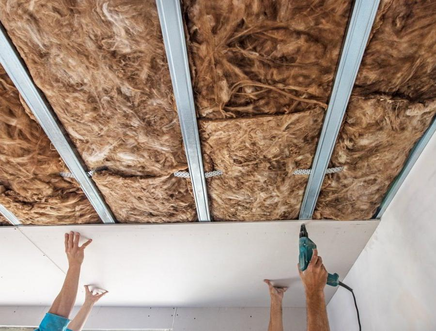 Способы звукоизоляции потолка. Шумоизоляция под натяжной потолок