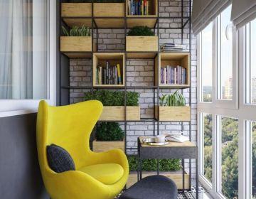 Как использовать с пользой пространство балкона или лоджии?