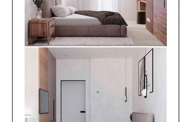 Дизайн-проект квартиры в ЖК Одиссей