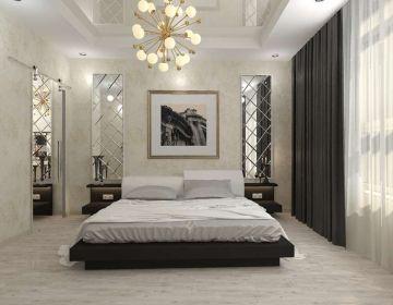 Дизайн проект спальни. Особенности выбора текстиля