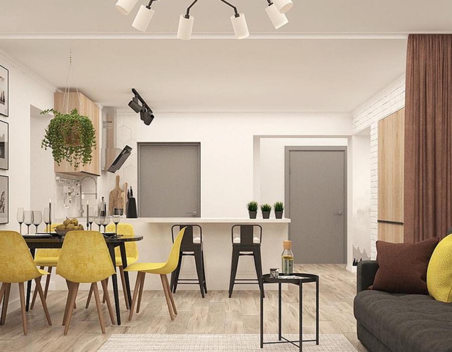 Какой интерьер подойдет для квартиры-студии