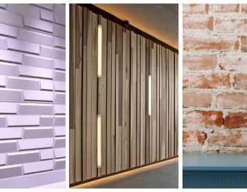 Использование современных материалов для отделки стен